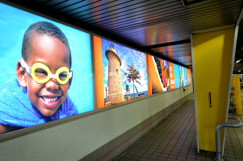 Airport Lightboxes