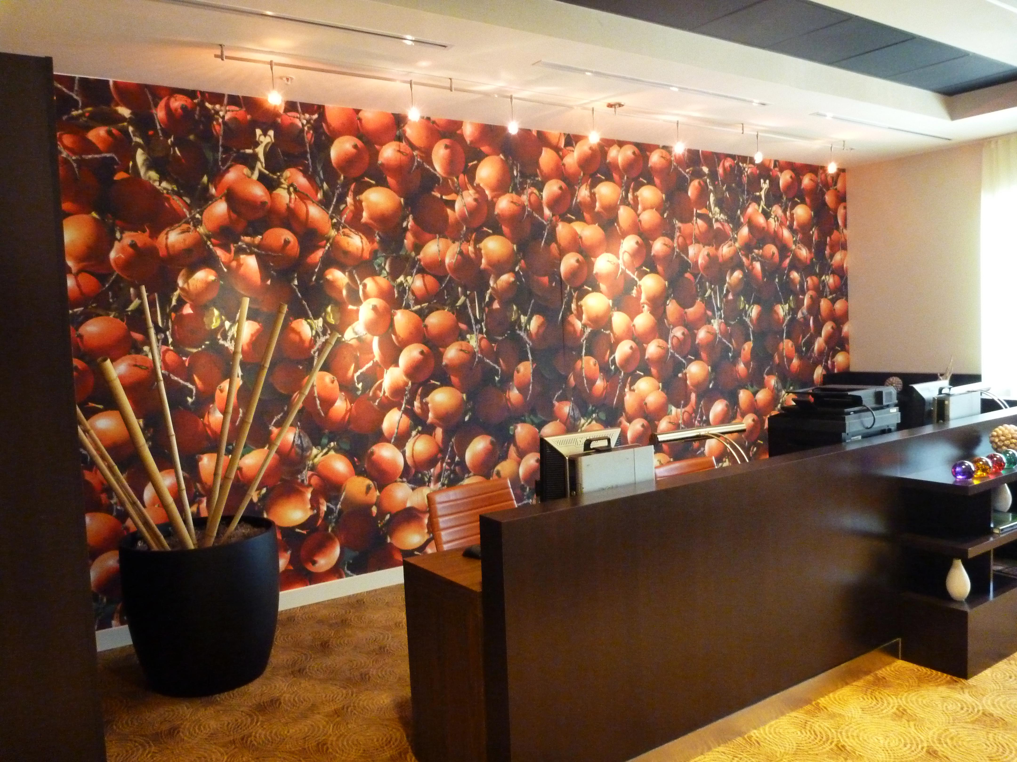 Marriot wall covering