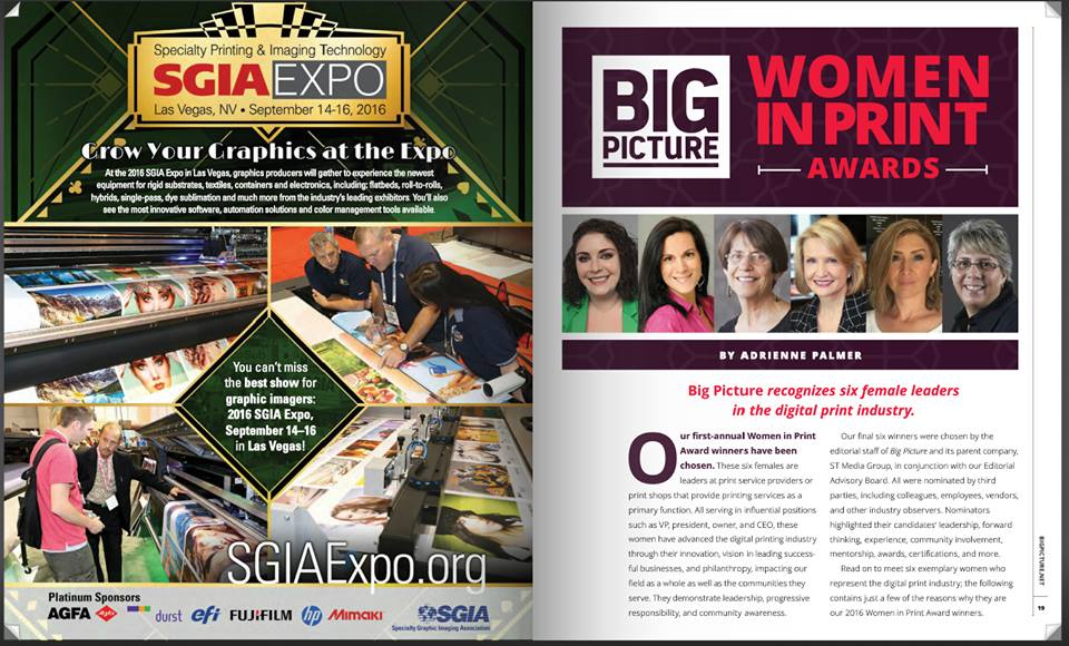 Women In Print Feature