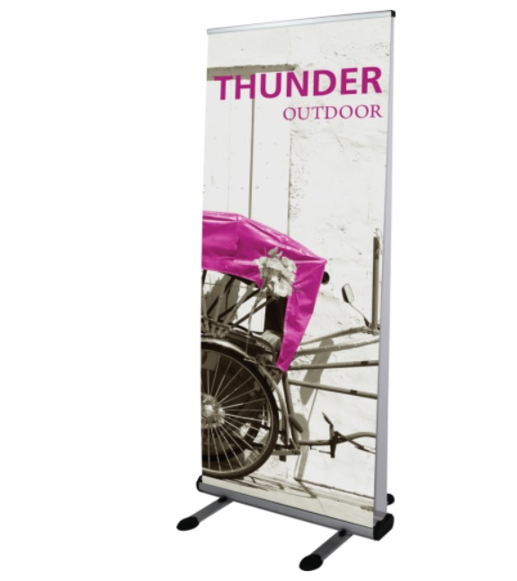 outdoor roll up display